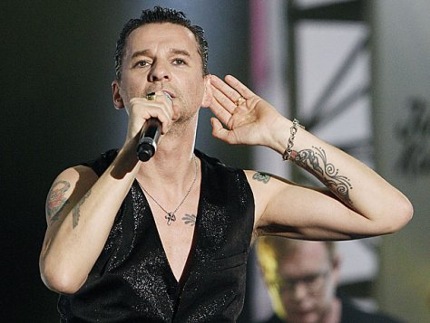 depeche mode foto concerto sounds of the universe 2009