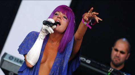 lilly allen-Glastonbury Festival 2009