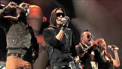 Black Eyed Peas Glastonbury Festival 2009