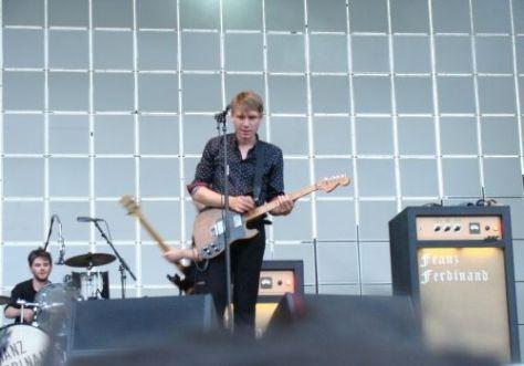 Franz Ferdinand - Roma live foto Rock in Roma 2009