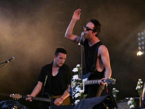 Glasvegas live Glastonbury 2009